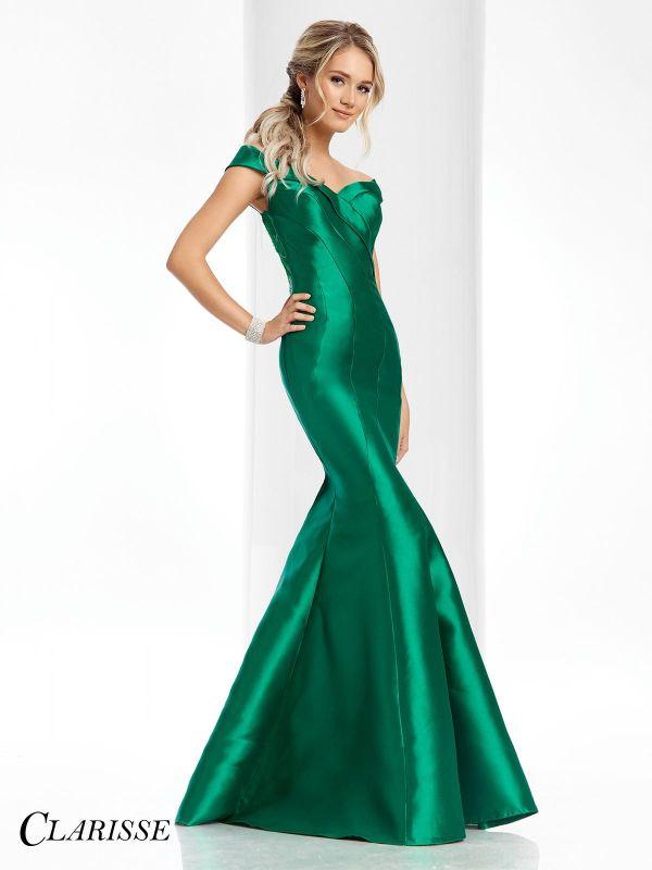 Clarisse Shoulder Mermaid Gown 4820