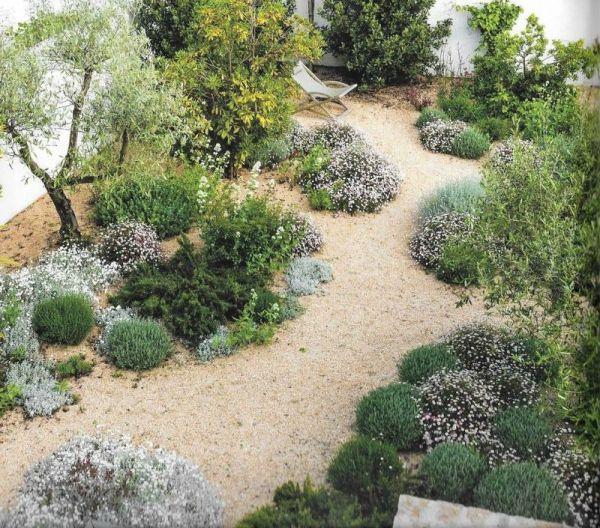 mediterranean garden landscape