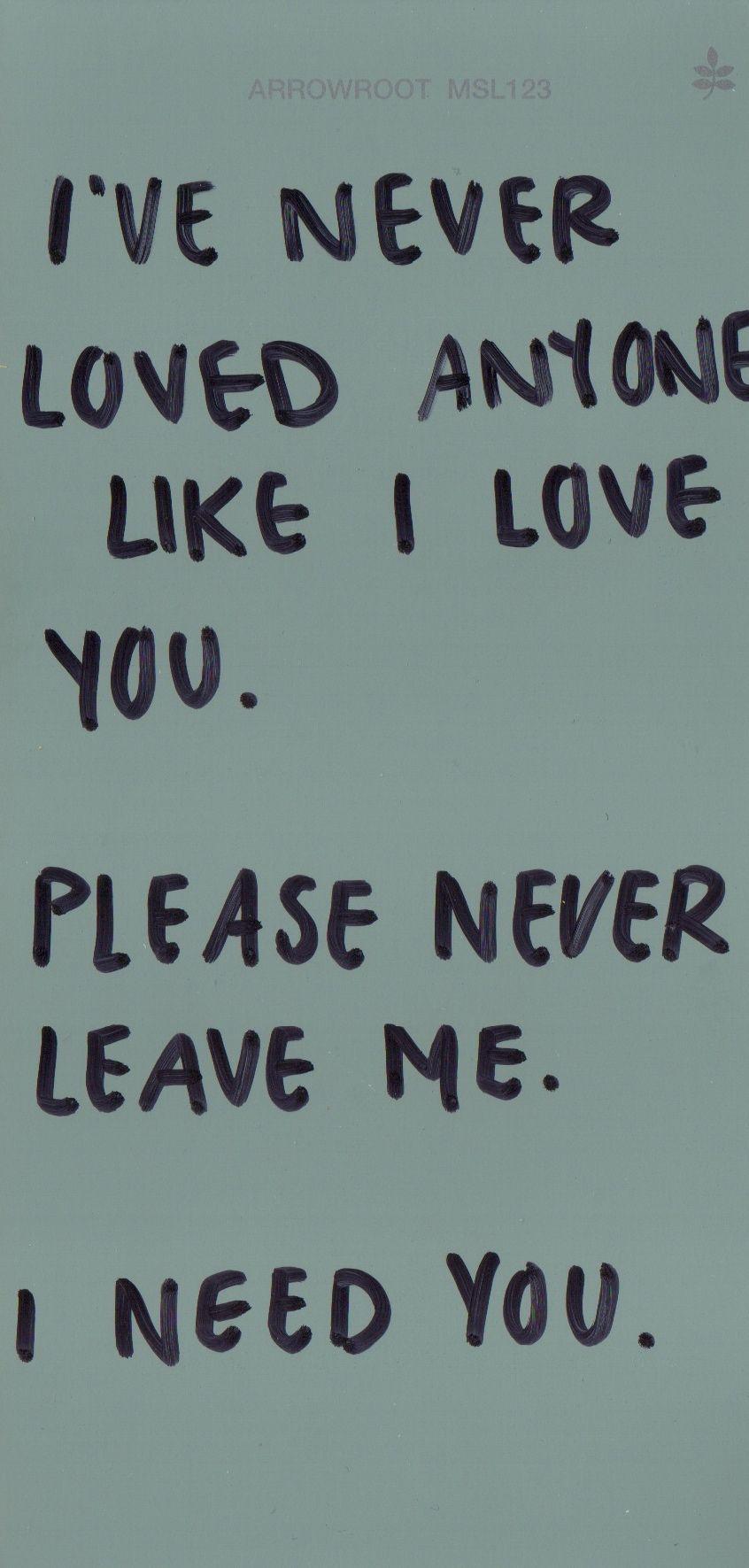You Always Hurt Ones You Love