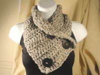 cowl scarf patterns free | Cowl Neck Scarf Crochet Pattern ...