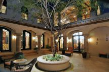 Spanish Style Home Plans with Courtyards