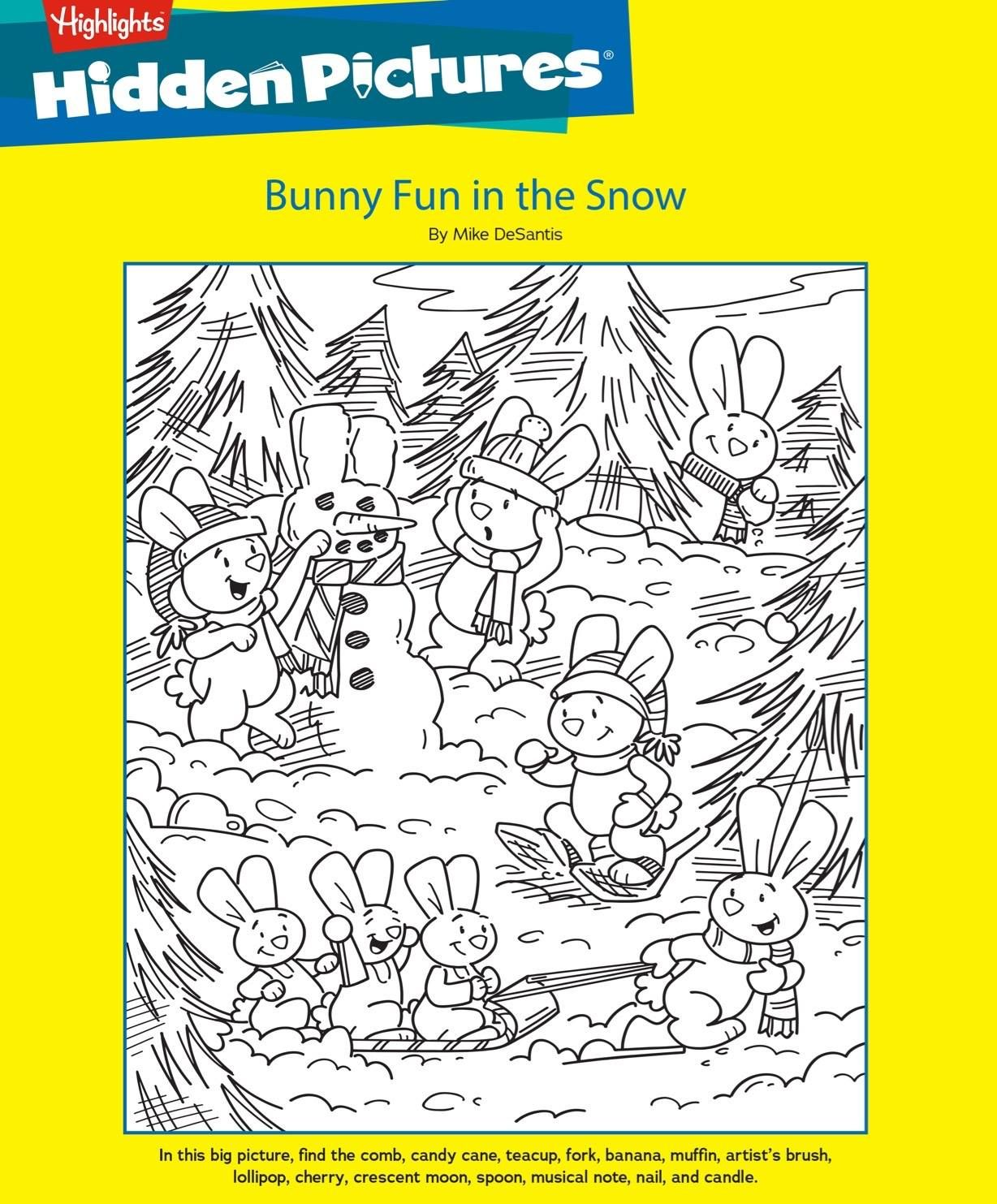 Celebrate Winter With A Free Printable Hidden Pictures