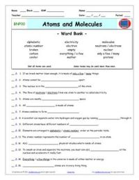 Differentiated Video Worksheet, Quiz & Ans. for Bill Nye ...