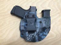 Glock 43 Wolf Pack AIWB holster/mag holder in Kryptek ...