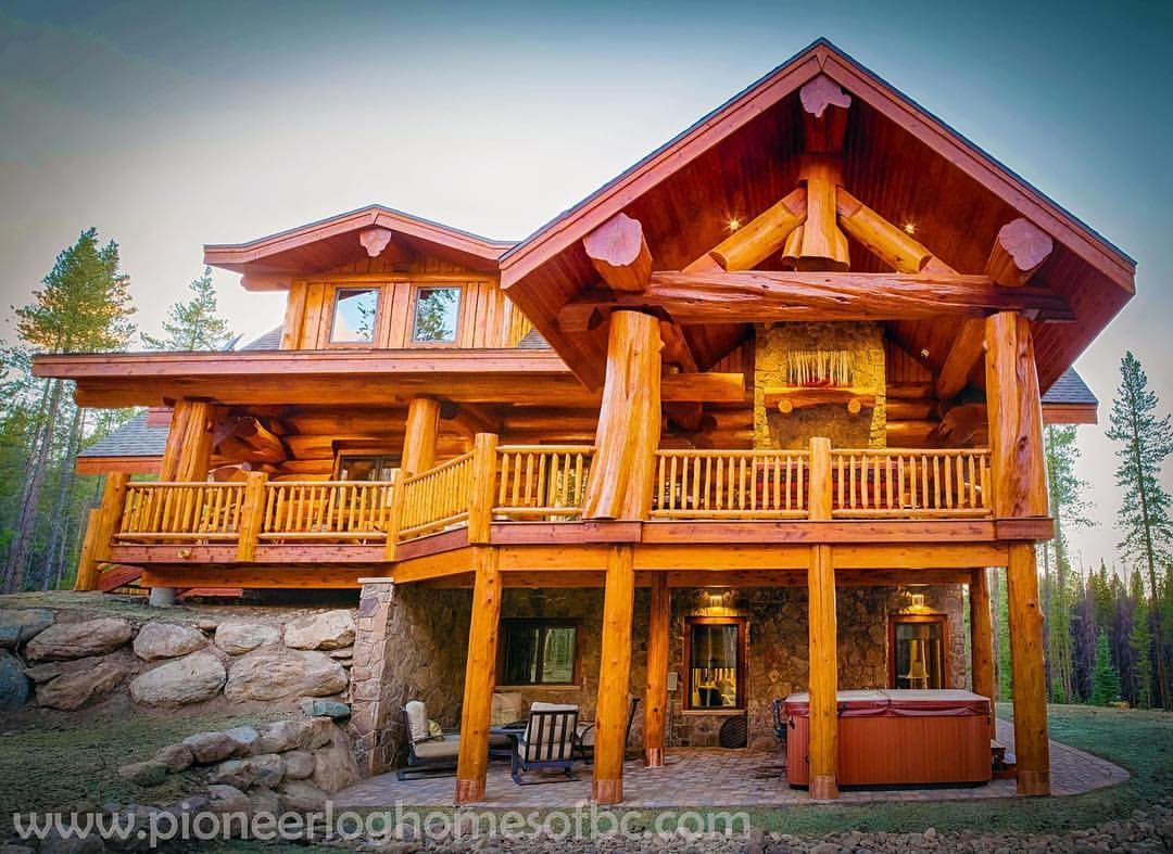 Best Kitchen Gallery: 438 Likes 8 Ments Timber King Bryan Sr Timberkingbryansr of World S Best Log Homes on rachelxblog.com