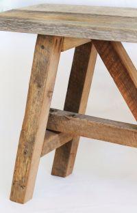 Rustic bench Reclaimed wood bench Barn wood entryway ...