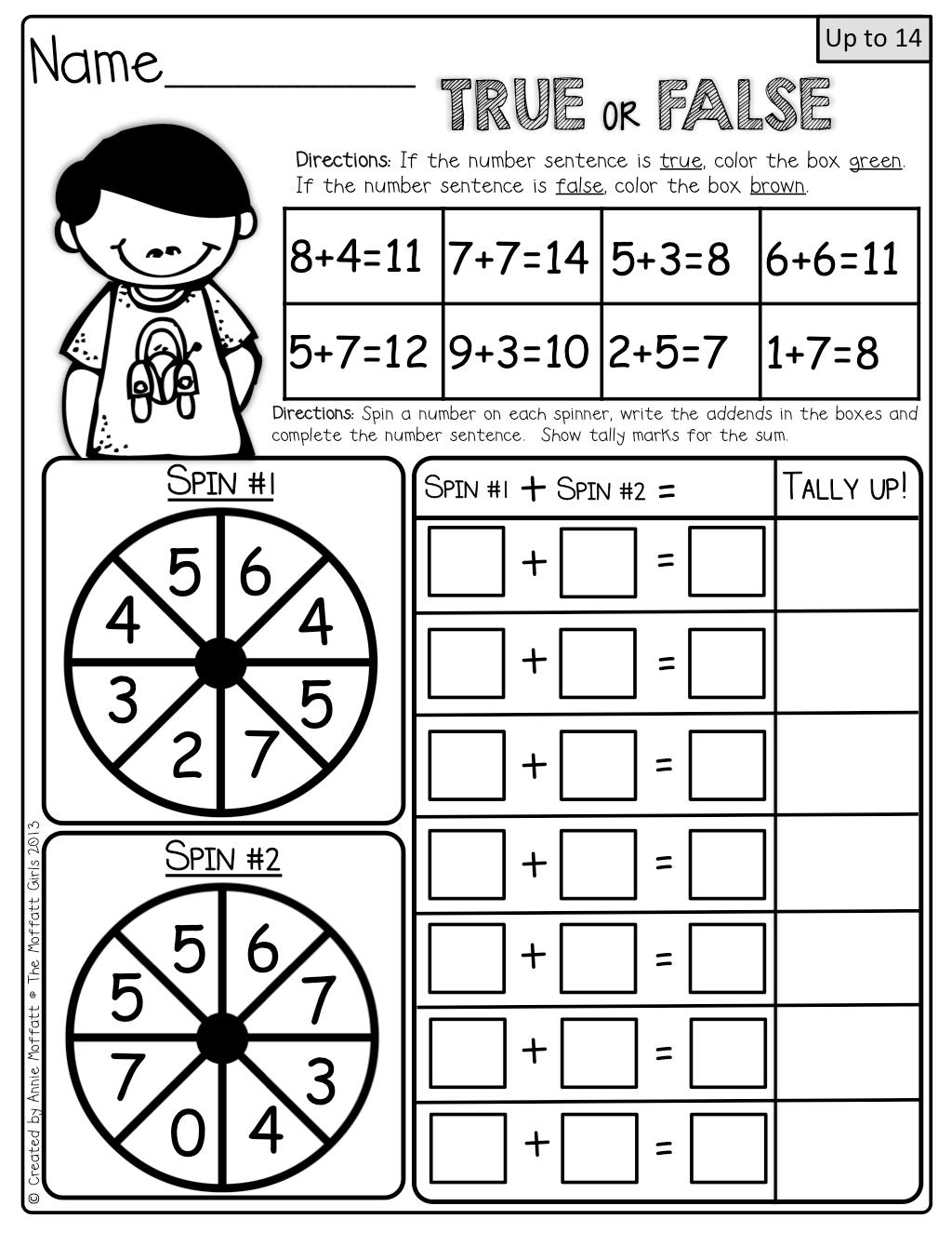 Interactive Math! FUN activities to help master simple