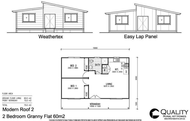 2 Flat Bedroom House Plans Full Brochure Pricing For This