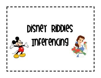 Inferencing Disney Character Riddles #DIY #Disney #Riddle