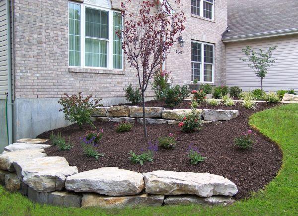 landscaping boulder walls