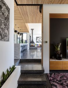 Smart design turns this heritage cottage into an eco friendly modern home also rh pinterest