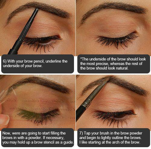 Best 25+ Eyebrow filling tutorial ideas on Pinterest