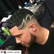 pin joshua barbershop sombreados
