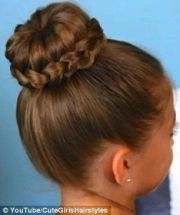 braided buns ideas