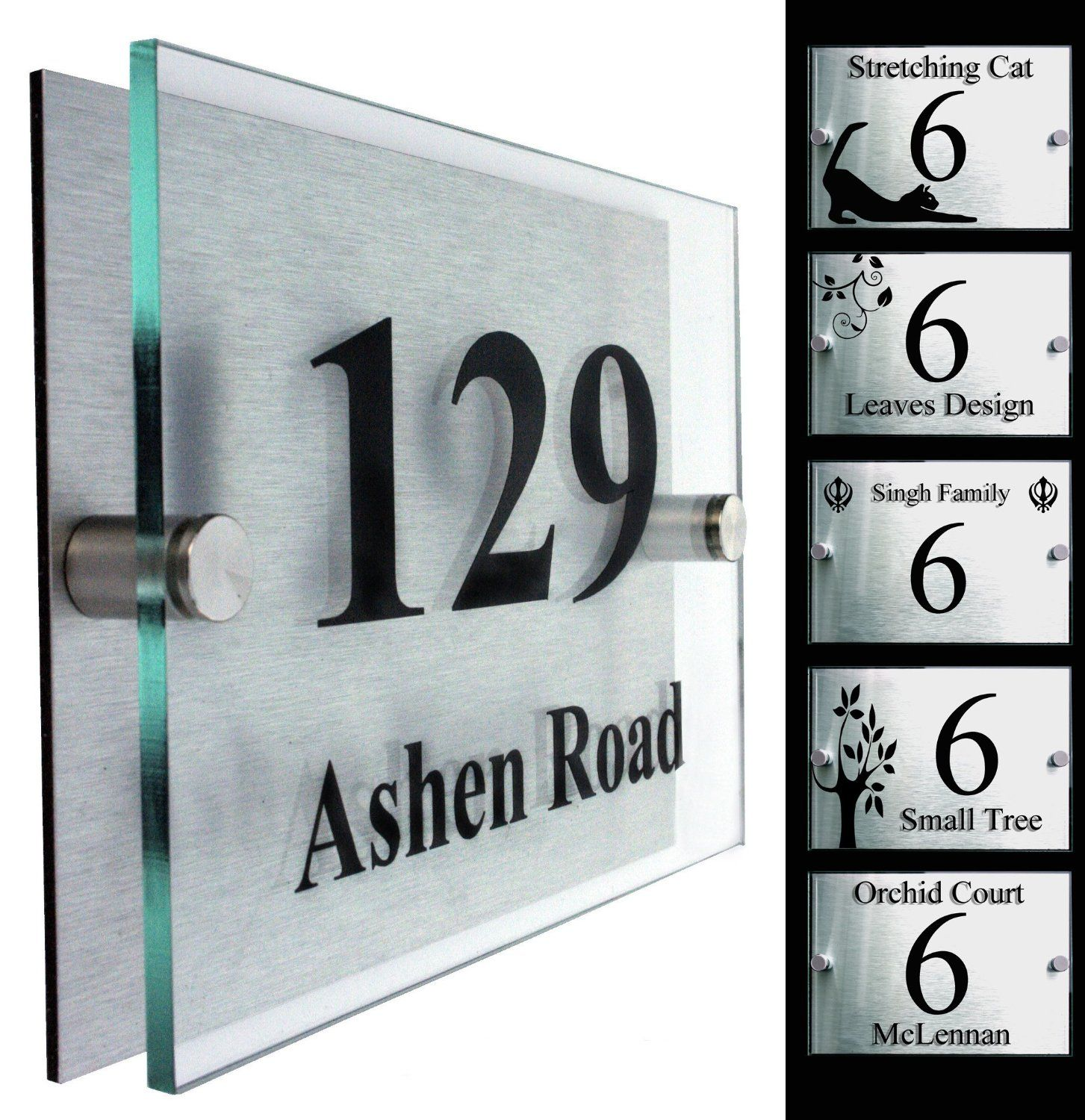 Amazon Co Uk House Numbers & Signs Garden & Outdoors