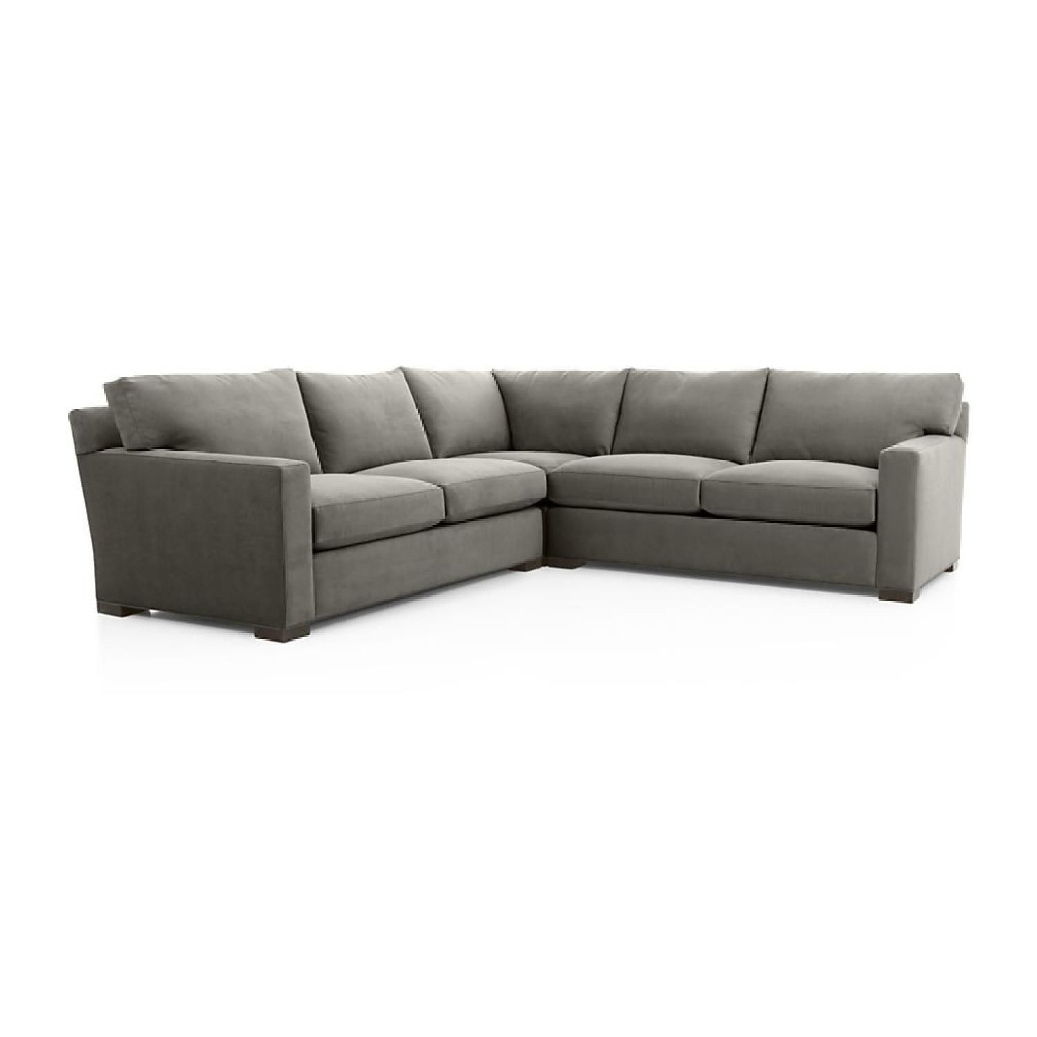coaster tess sectional sofa traditional sofas melbourne crate and barrel axis ii 3 piece sleeper