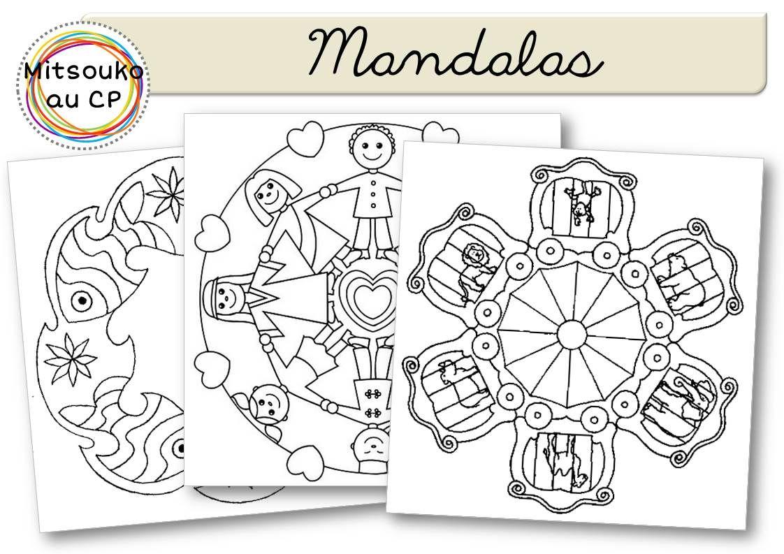 Page De Titre Mandalas