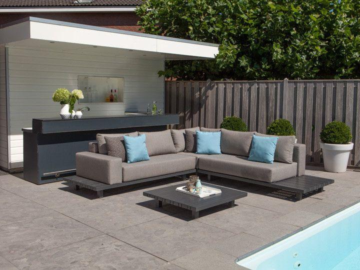 Paradiso Lounge Modul Fur Garten Loungegruppe Garten Gartenmobel Gartensofa Gartenlounge Loungegruppe Teakloungesgunstig Kaufen