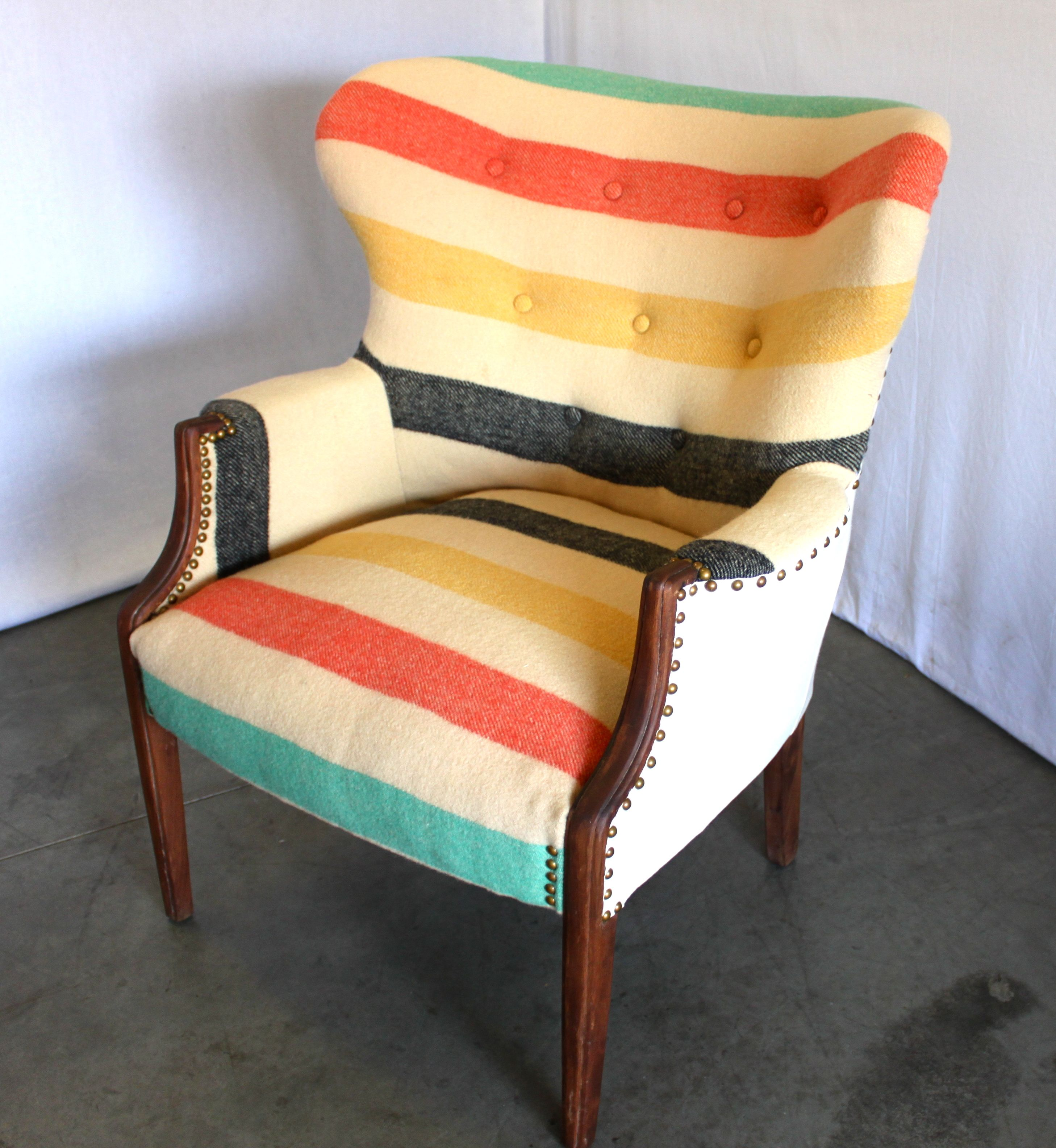 bedroom chair with blanket folding in rajkot antique pendleton style camp upholstery