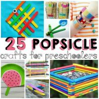 25 Summertime Popsicle Stick Crafts for Preschoolers ...