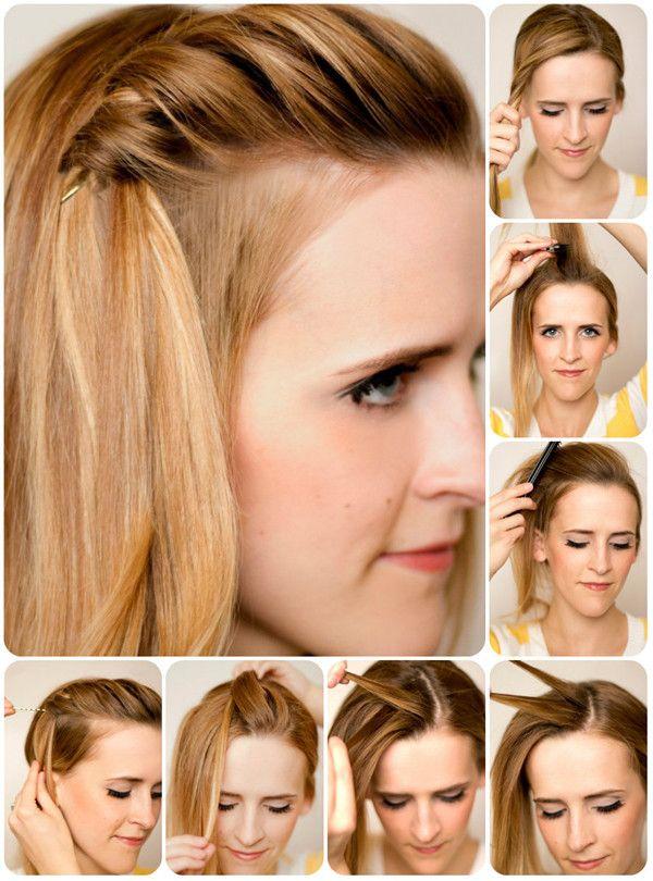 Twist Hair Tutorial Peinados Pinterest Modische Frisuren