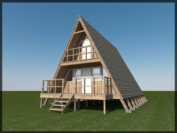 Cabin Frame House Plans