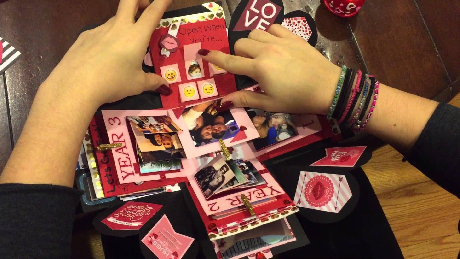 Explosion Box For Boyfriend Valentines DayAnniversary