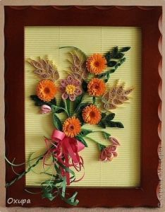 Quilling flowers art frame quilts also pin by alice jose on pinterest rh