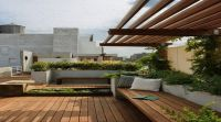 Roof Garden Design Ideas With Wood Roof Garden Design ...