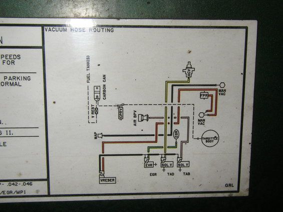 1985 Chevy 305 Vacuum Diagram Pictures To Pin On Pinterest