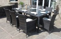 Rectangular Patio Table Seats 8 Patio Design Ideas Dining ...