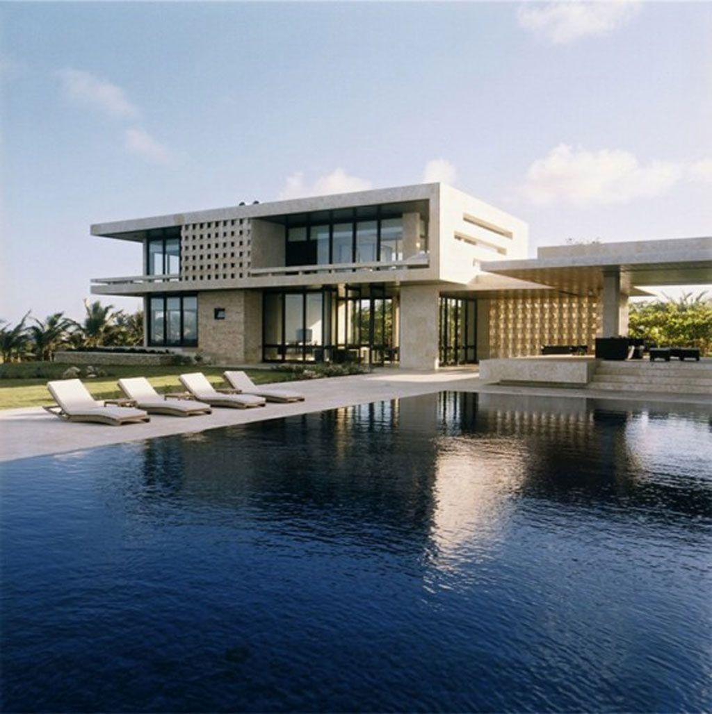 Contemporary Mansions Modern Beach House Design House