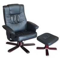 reclining office chairs australia leather lounge chair and ottoman recliner foot stool black swivel recline