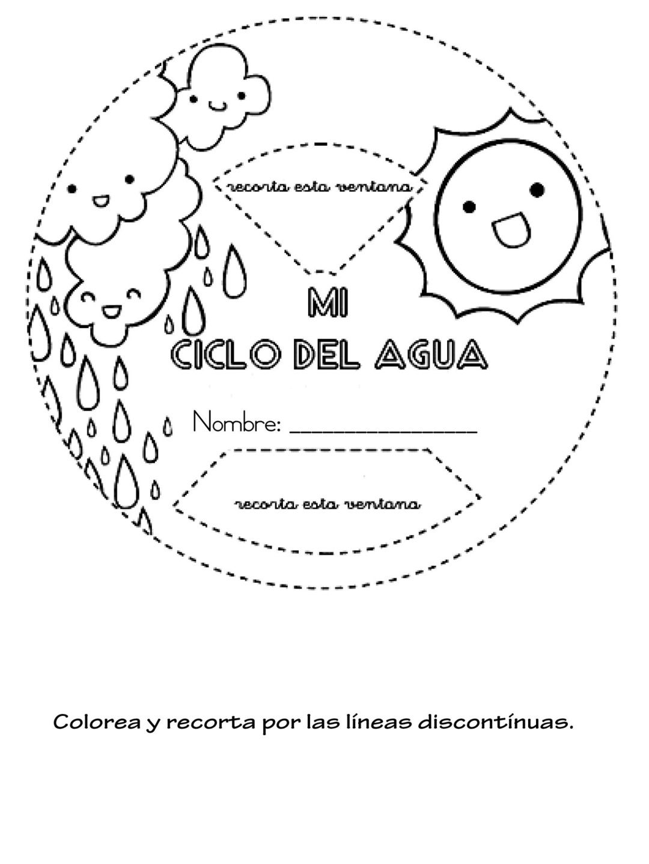 Cuaderno Interactivo Ciclo Del Agua 8
