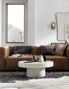 Lenyx sofa leather heather homedesign ends today free in home delivery on also rh uk pinterest