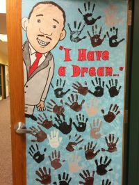 Celebrate Martin Luther King / Diversity Hands Door ...
