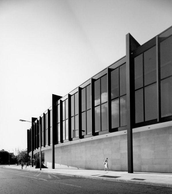 Brown Pavilion Addition 1974 Mfah Ludwig Mies Van Der Rohe