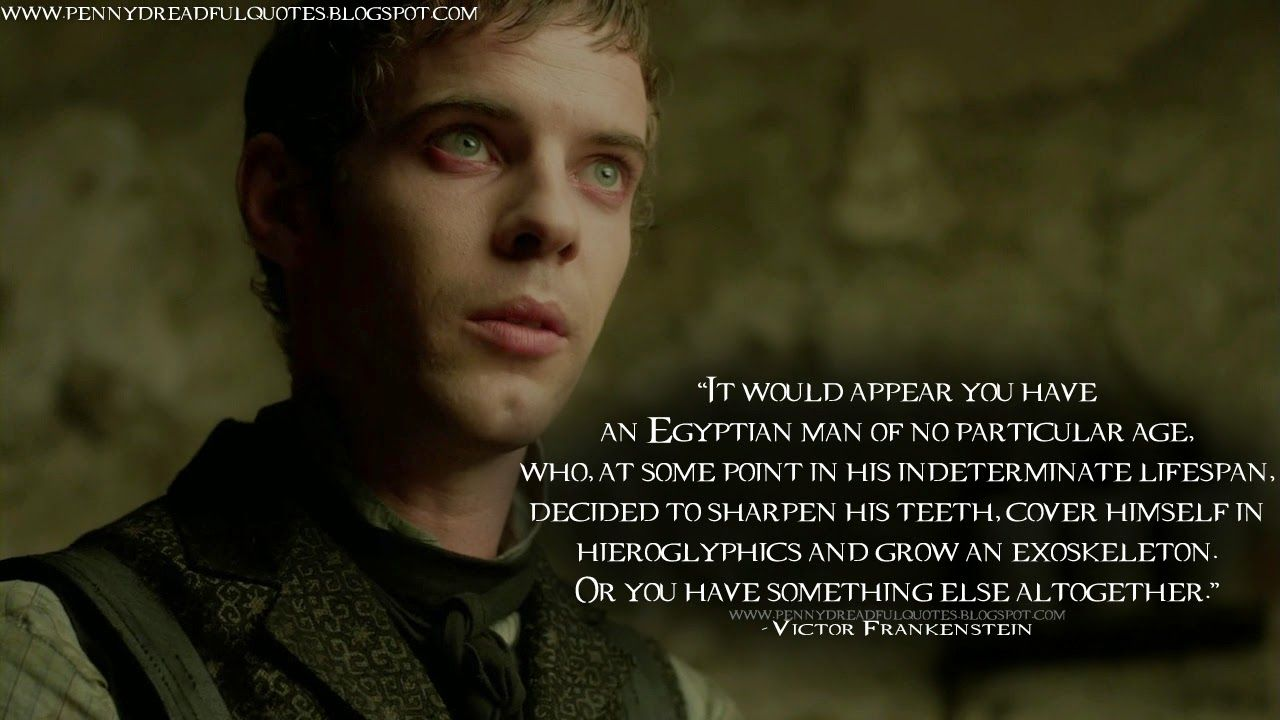 Victor Frankenstein Quotes Quotes Of Victor Frankenstein Being Sick Quotes Picture