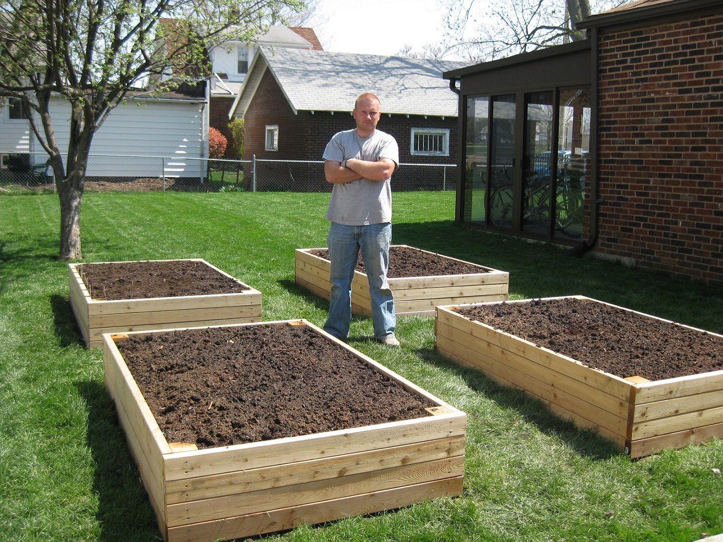 Pallet Vegetable Garden Box Ideas DIY Pinterest Gardens