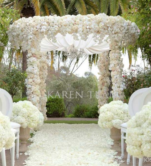 Wedding Ceremony Decorations Outdoor Luxury Wedding Ceremony