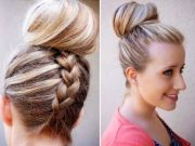 french braid hairstyles long