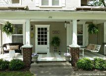 Front Porch Decorating Ideas Vintage Home Love