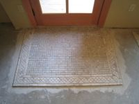 transition tile to wood entry way - Google Search ...