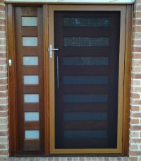 SecureView Hinged Security Screen Door Stainless Steel ...