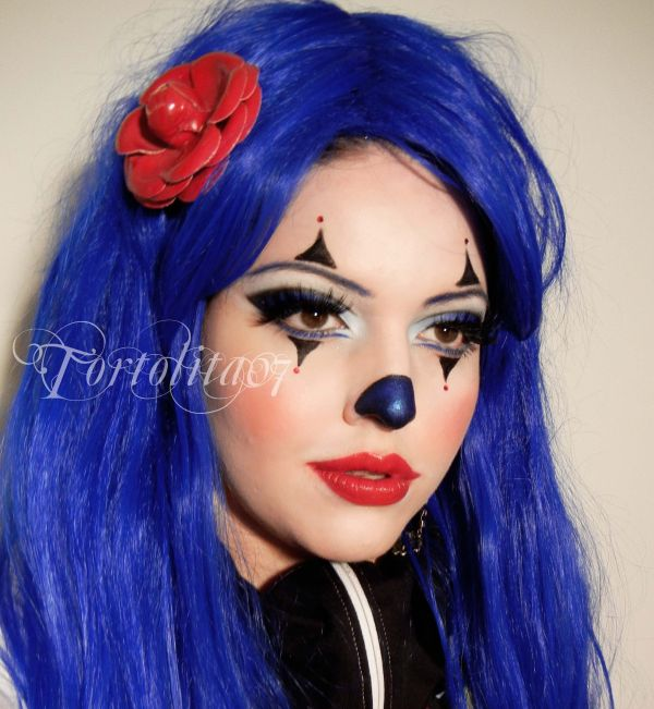 Cute Clown Makeup