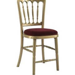 Chair Design Gold Fishing Brackets Gilt With Red Seat Pad Offers Traditional