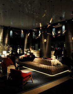 Bar also coltrane suspension ceiling lamp paramount hotel philippe starck rh pinterest