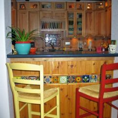 Living Room Ideas With Dark Leather Couches How To Decorate My Small Santa Fe Style Kitchen Cabinets | ...