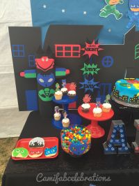 Pj masks birthday party decor ideas | Crafts & party ideas ...