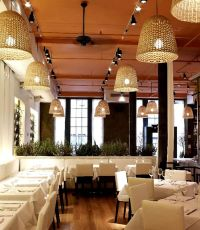 Hanging Pendant Light Restaurant Interior Lighting Design ...